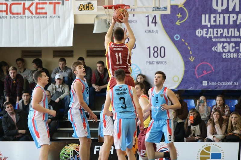 В Смоленске пройдет финал ЦФО чемпионата школьной баскетбольной лиги «КЭС-Баскет»