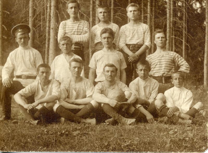 «Матч 1912 года». Уникальные фото смоленских футбольных команд опубликованы в сети