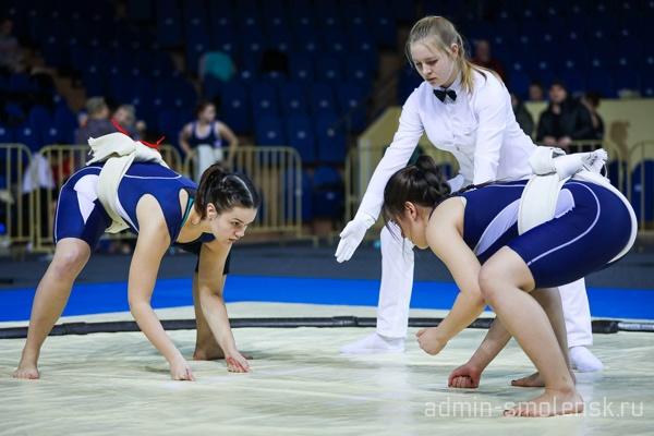 Сумоистка из Смоленска завоевала «бронзу» чемпионата России