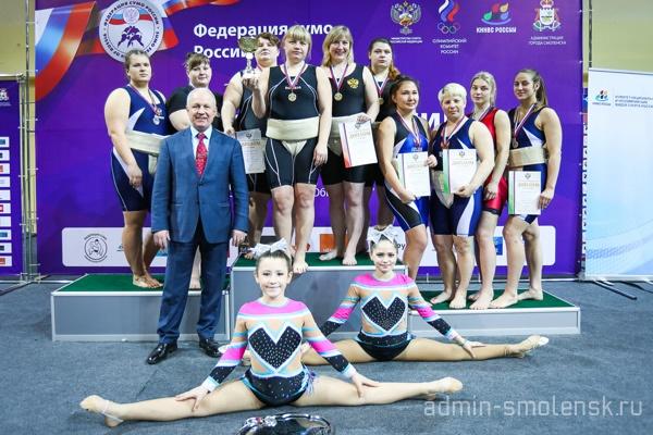 Смолянка заняла третье место на чемпионате России по сумо