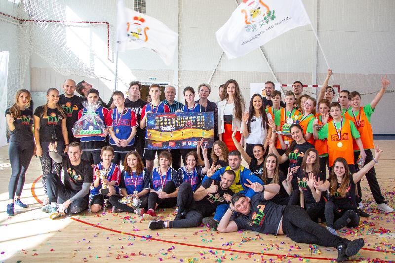 В Смоленске ребята из детских домов соревновались в кроссфите