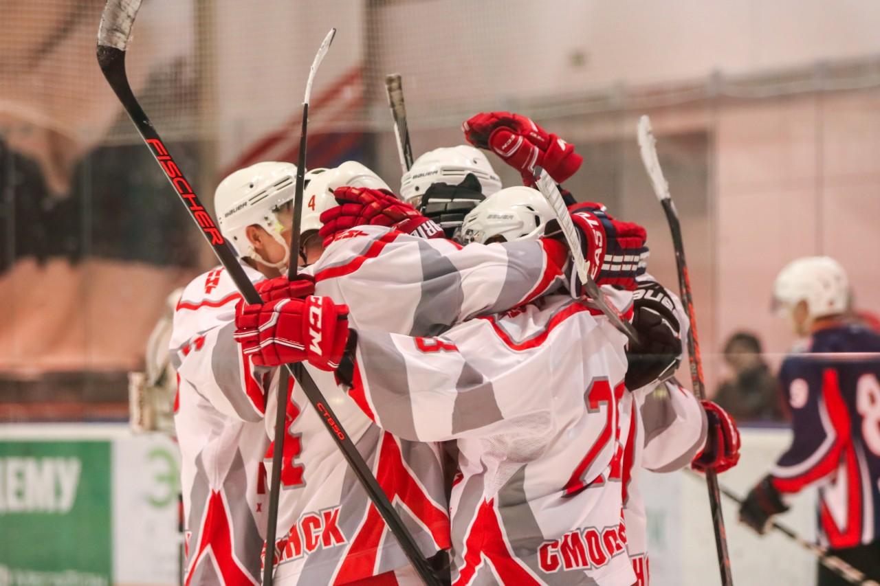 В Смоленске пройдёт решающий матч финала городского чемпионата по хоккею