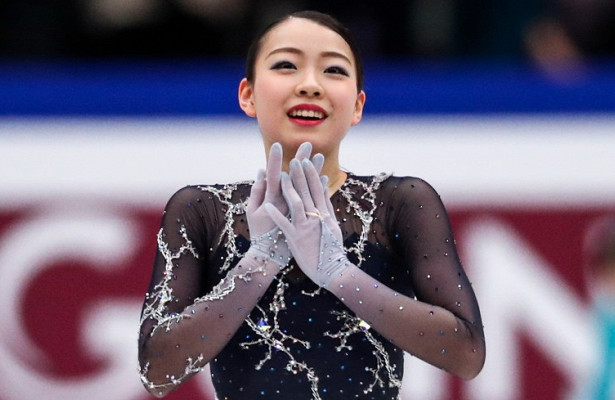 Японская фигуристка обновила мировой рекорд