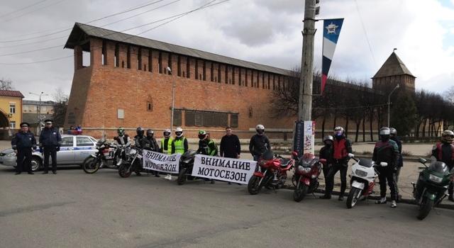 В Смоленске открылся мотосезон
