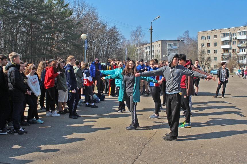 В Реадовском парке Смоленска прошла акция «Здоровая молодёжь – здоровый город!»