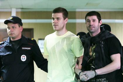 Кокорин из зала суда отреагировал на чемпионство «Зенита»