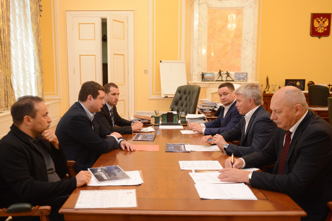 Алексей Островский заручился поддержкой министра спорта в проекте «Валутино»