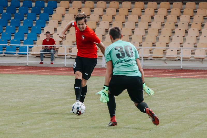 Футболисты «Смоленска» сыграли вничью с «Оршей»