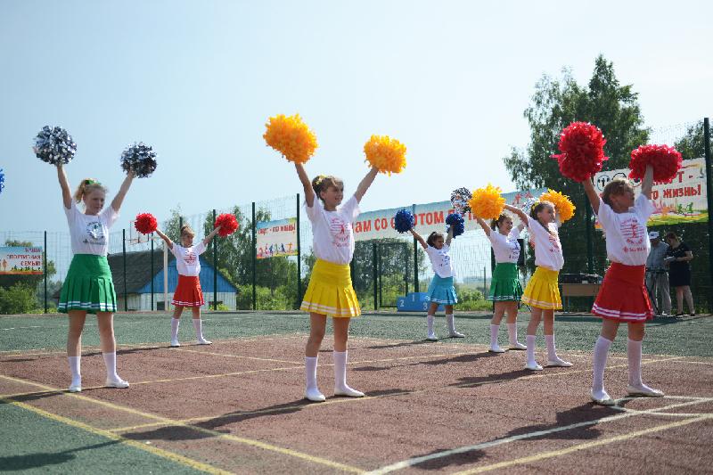 В Починковской школе-интернате открыли спортивную площадку