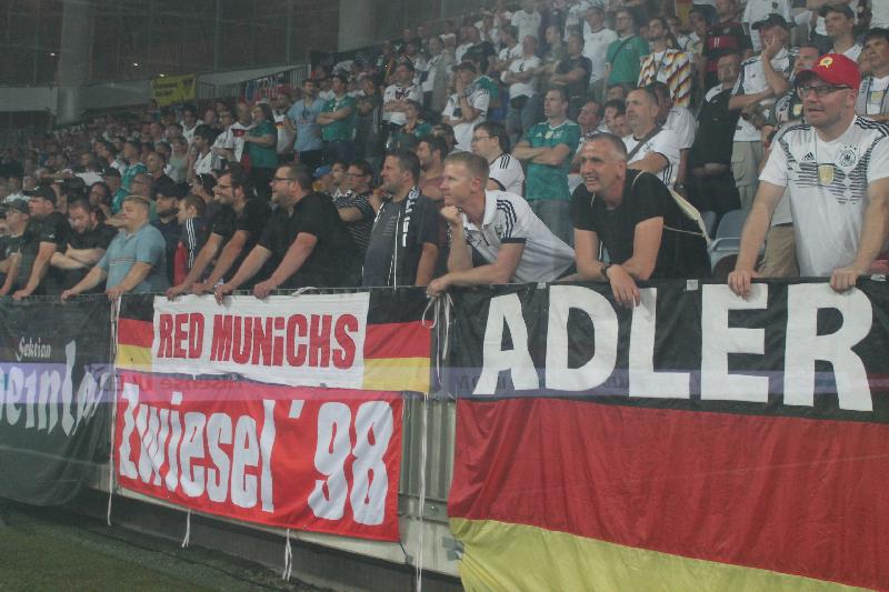«Без пива и интриги». Впечатления корреспондента «РП» от футбольного матча белорусов с немцами