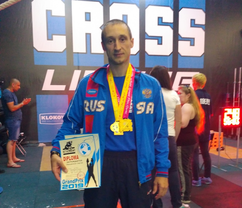 Смоленский росгвардеец стал победителем серии гран при Кубка Мира по гиревому спорту
