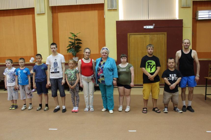 В Смоленске прошли соревнования по бочча