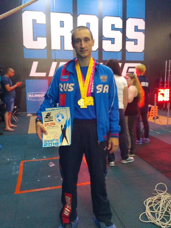 Смоленский офицер выиграл Гран-при Кубка Мира по гиревому спорту