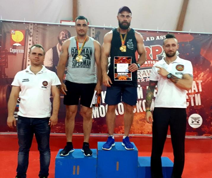 Смоляне привезли медали с чемпионата Подмосковья по пауэрлифтингу