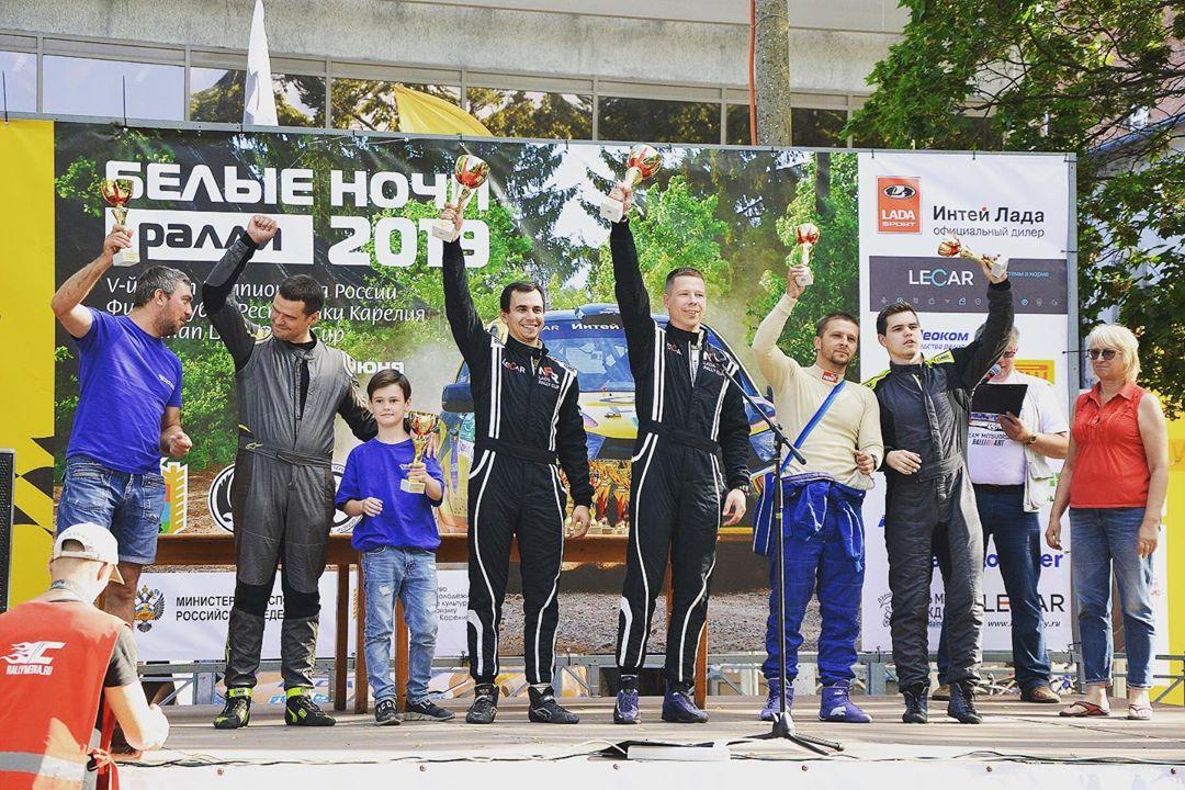 Смолянин стал чемпионом России по ралли