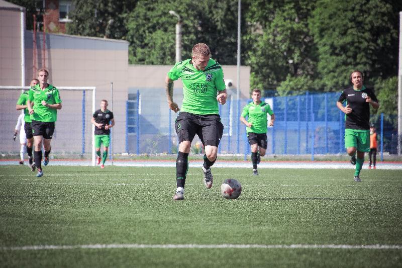 Футболисты «Красного-СГАФКСТ» крупно выиграли в Липецке
