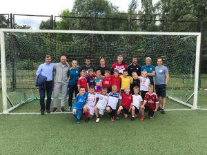 Тренеры «Чертаново» поделились опытом с юными смолянами