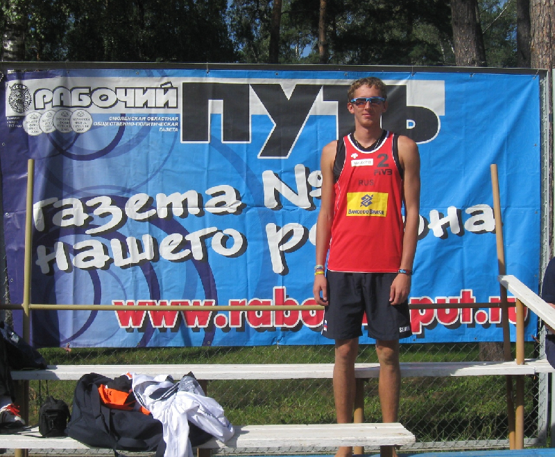 Смоленский волейболист выиграл «серебро» чемпионата Европы
