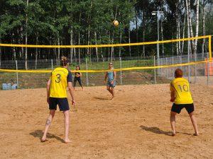 В Смоленске прошёл турнир по пляжному волейболу