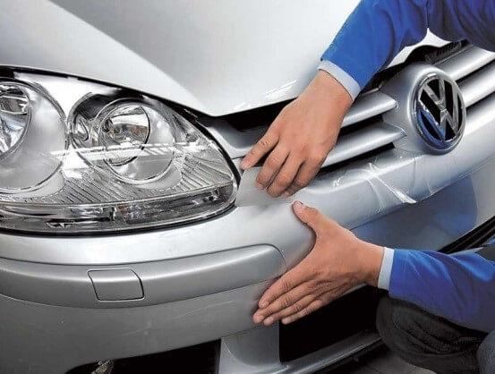 Надёжная защита кузова автомобиля — виниловая пленка
