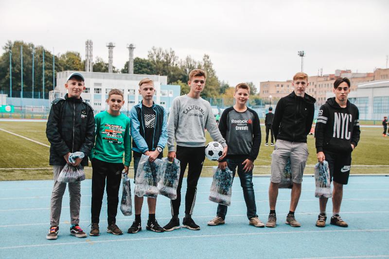 Юные смоляне из Шаталовского детского дома побывали на футбольном матче