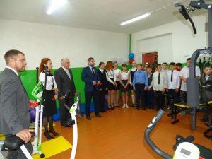 В Смоленской области в сельской школе открыли спортклуб