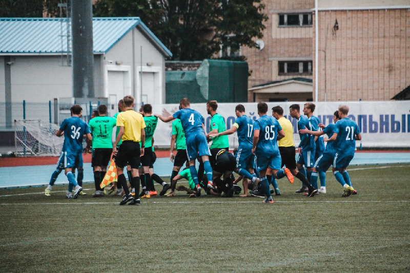 Матч с участием смоленской команды стал самым посещаемым в чемпионате