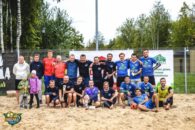 В Смоленске прошёл кубок «Соловьиная роща» по пляжному футболу