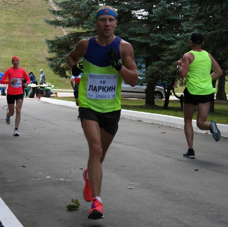Смоленский марафонец стал вторым на чемпионате России