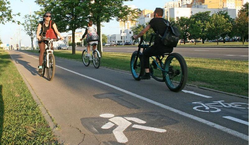 В Смоленске появится первый велотротуар?