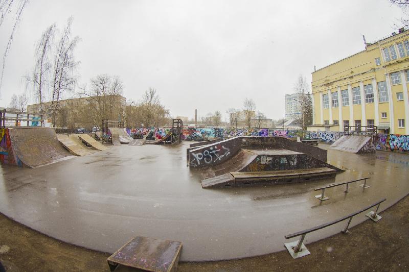 Через полгода в Смоленске откроется обновленный скейт-парк