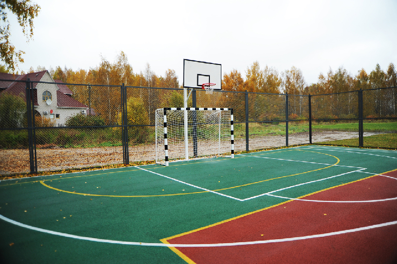Под Смоленском появилась новая спортивная площадка