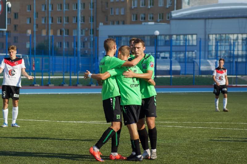«Красный-СГАФКСТ» завершил чемпионский сезон победой
