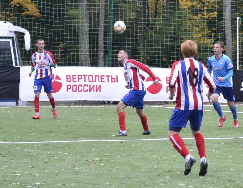Смоленские футболисты не смогли обыграть москвичей