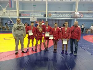 Смоленские самбисты стали третьими на всероссийском турнире
