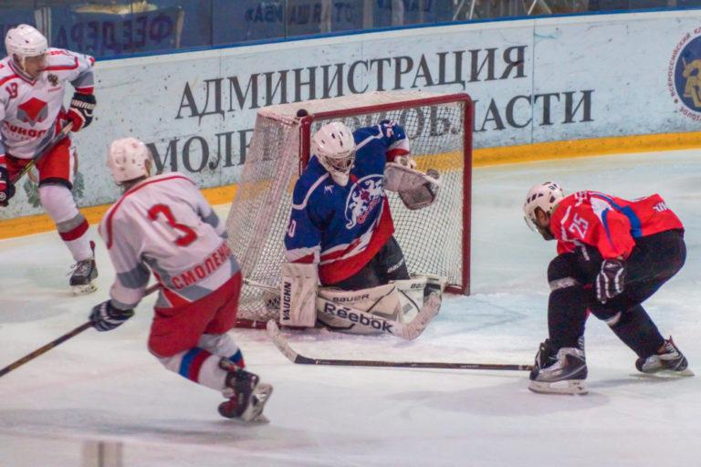 В Смоленске стартовал новый хоккейный сезон