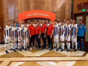 Студенты из Смоленска победно стартовали на чемпионате мира по футболу