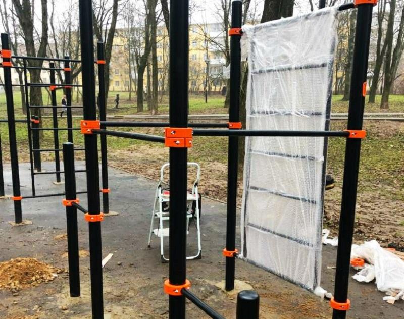 В смоленском парке появились новые тренажеры