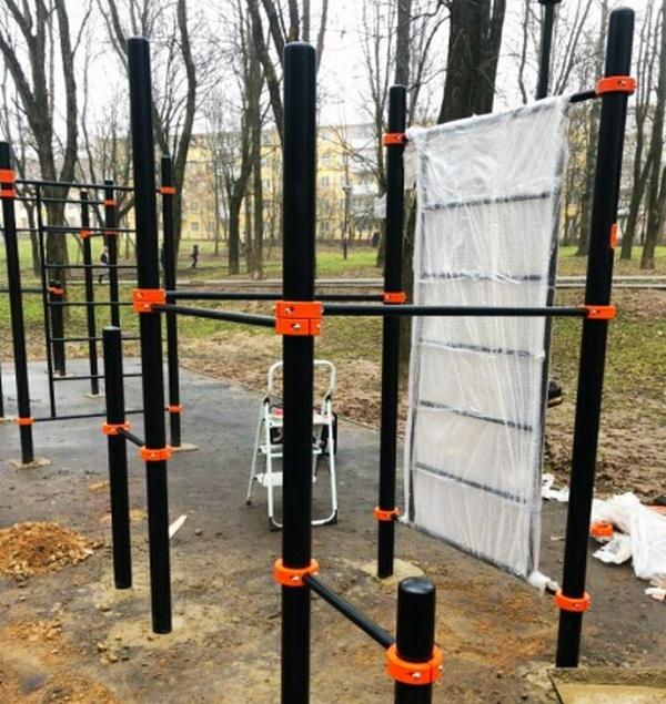 В Смоленске обустроили площадку для параворкаута