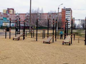 В этом сезоне в Смоленске построили несколько новых спортивных площадок