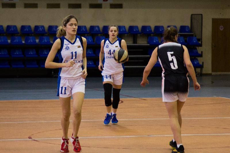 Стопроцентные девушки. Баскетболистки СГАФКСТ выиграли все матчи в Смоленске