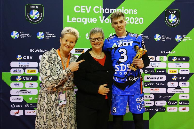 Смолянина признали лучшим игроком матча Лиги чемпионов