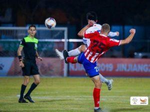 Смоленские футболисты обыграли бразильцев