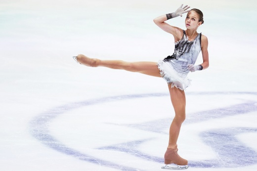 Трусова дважды упала в показательном выступлении на чемпионате Европы
