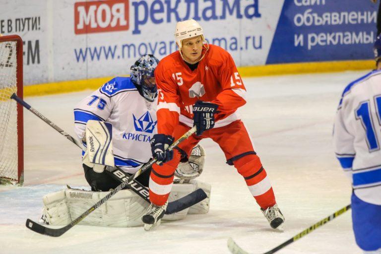 В Смоленске хоккейный клуб СГАФКСТ сразится со «Славутичем-2003»