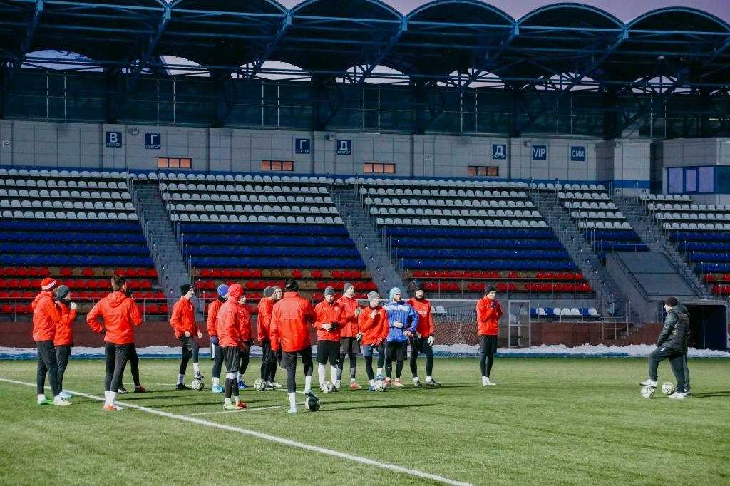 Смоленские футболисты начали подготовку к новому сезону