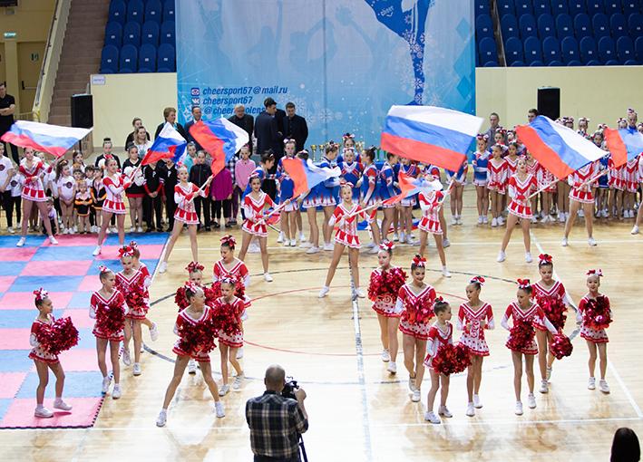 В Смоленске состоялся чемпионат области по чир-спорту и чирлидингу