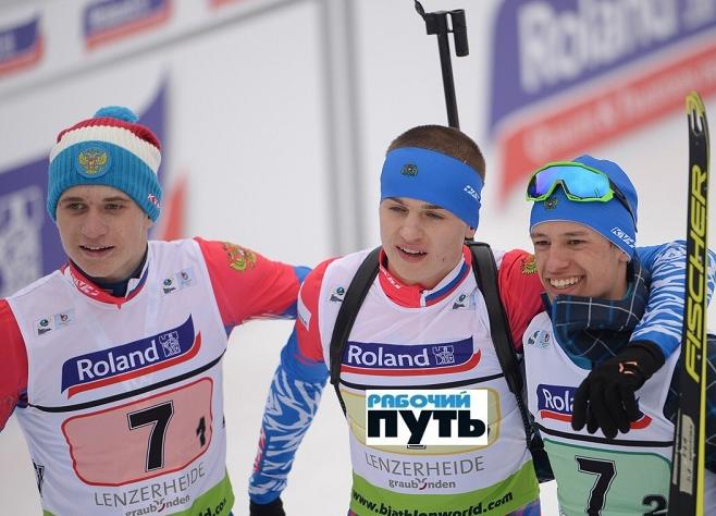 Смоленский биатлонист Алексей Ковалев завоевал медаль в Швейцарии