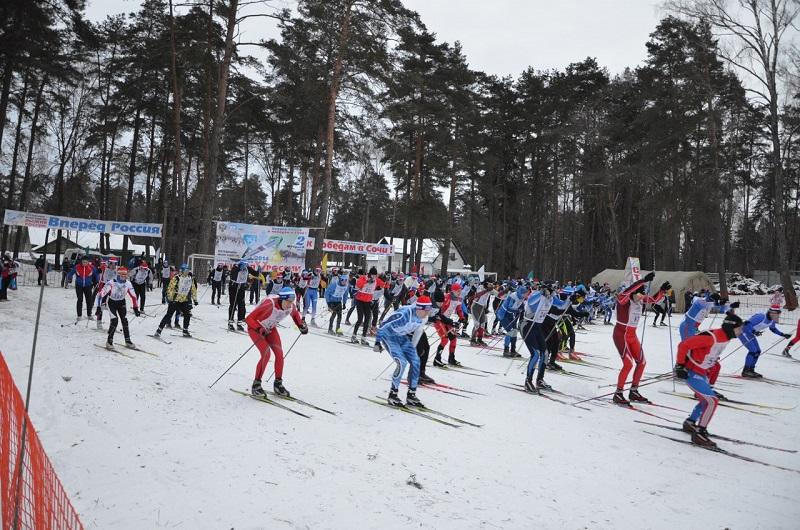 В смоленском райцентре прошла «Лыжня России»