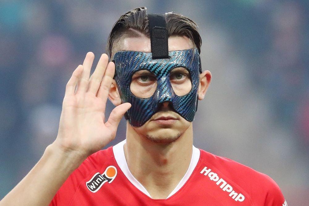 Илья Кутепов: Ближайший официальный матч должен провести уже без маски